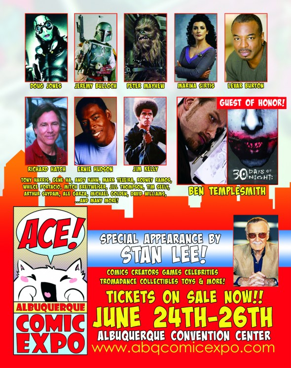 Albuquerque Comic Expo Flyer