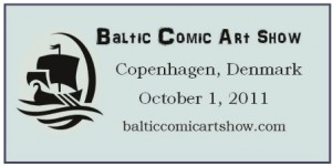 Baltic Comic Art Show banner