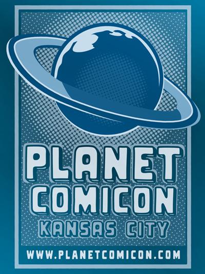 Planet Comicon, Kansas City logo