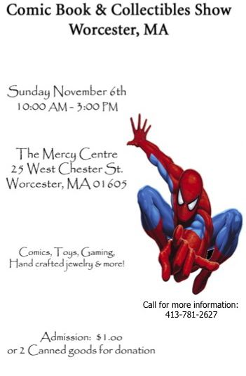 Worcester MA Comic Book and Collectibles Show