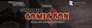Garden State Comic Con logo banner