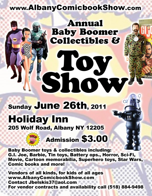 Capital District Toy and Collectible Show flyer
