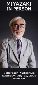 Hayao Miyazaki in Berkeley