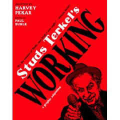 Harvey Pekar and Paul Buhle sign at KGB Bar on June 20th.