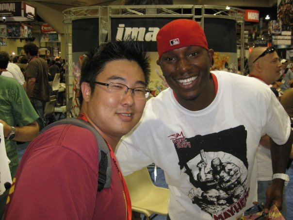 Me and Tyrese, creator of Mayhem!