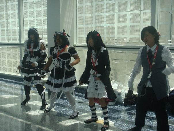 Little girls sing and dance to some J-pop beats.
