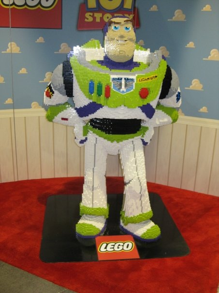 Buzz Lightyear from the land of Legos.
