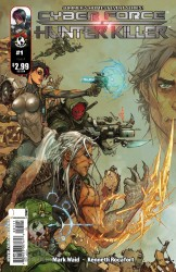 Cyberforce/Hunter-Killer #1 cover A by Kenneth Rocafort