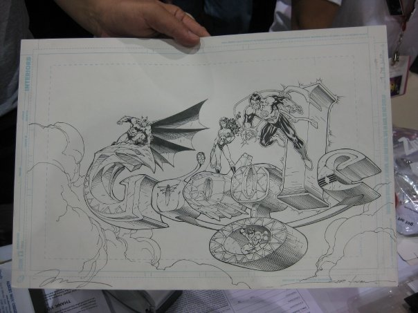 Jim Lee's Google image straight from the web and into the hands of art dealer extraordinaire, Albert Moy.
