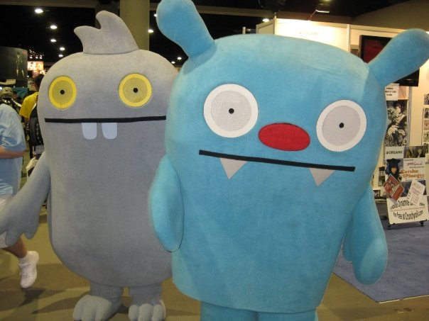 Ugly Dolls coming at you!