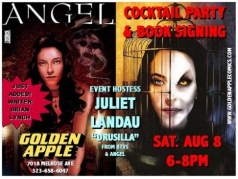 Juliet Landau & Brian Lynch sign on Aug. 8th.