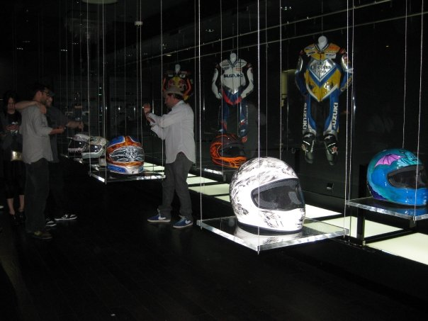 Front view of the exhibit.