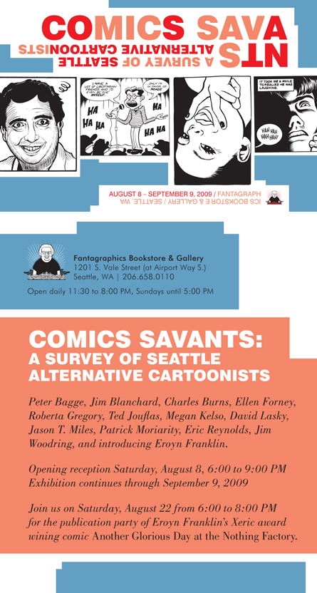 Fantagraphics celebrates 20 years in Seattle