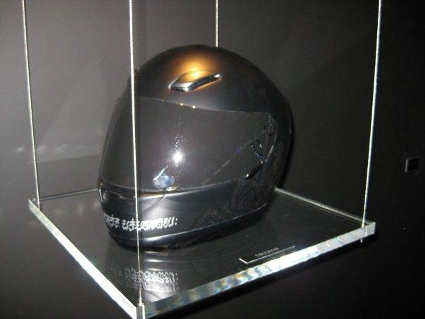 Usugrow's helmet.