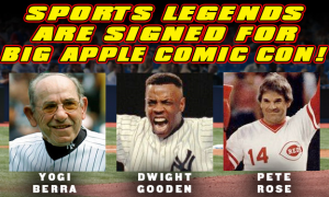 Big Apple Comic-Con Sports Legends
