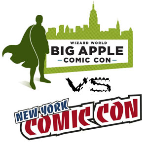 The Big Apple Comic Con will go head-to-head with the New York Comic Con in 2010.