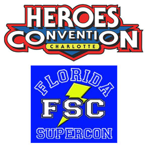 Heroes Con and the Florida Super Con