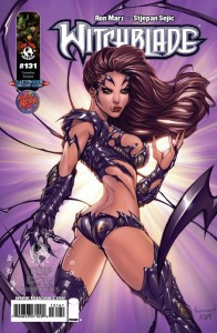 Witchblade #131 Fantastic Realm variant cover