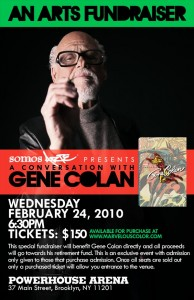Gene Colan speak on February 24th at 6:30pm