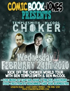 Ben Templesmith and Ben McCool sign on February 24th at Comic Book Jones