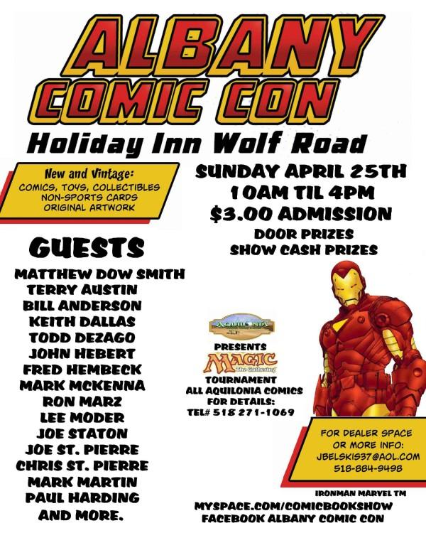Free Comic Book Day Flyer: Convention Scene