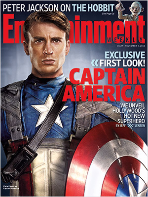Entertainment Weekly 1127 COVER CAPTAIN AMERICA