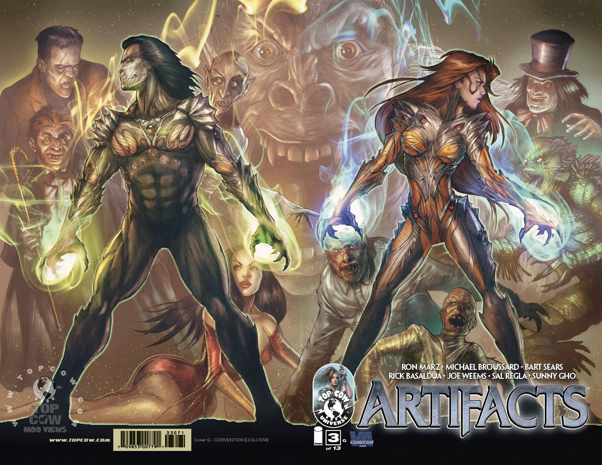 Artifacts #3 variant, by Tucci