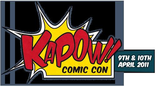 Kapow! Comic Con logo