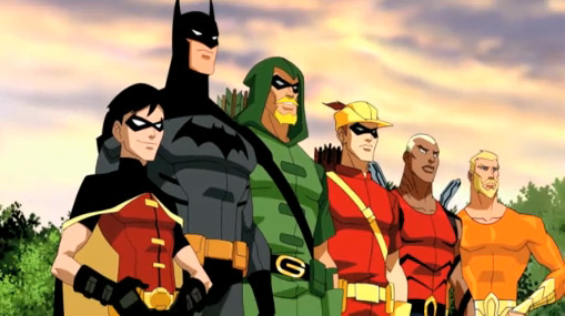 Young Justice Animated Series