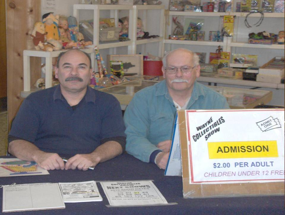 Phil and Mike from Wayne Collectibles Show