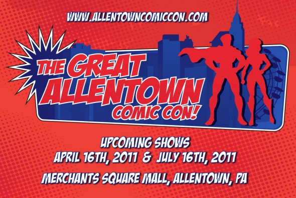 Great Allentown Comic Con flyer