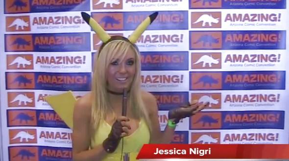 Amazing Arizona Comic Con 2011 with Jessica Nigri