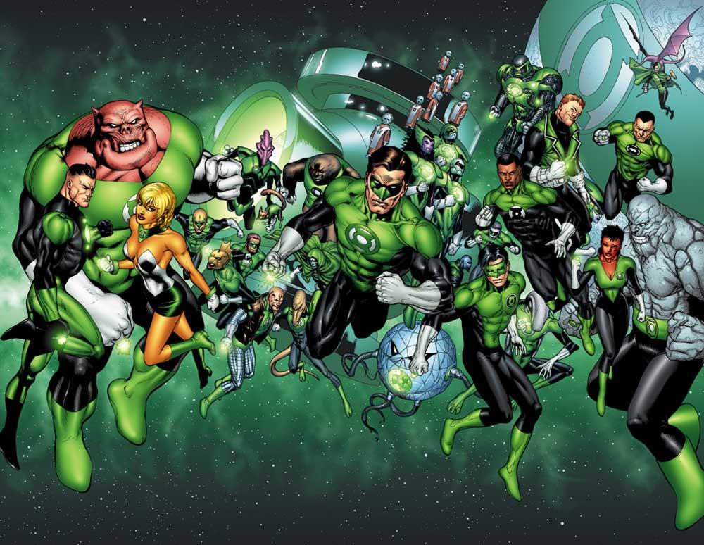 Doug Mahnke Green Lantern Corps