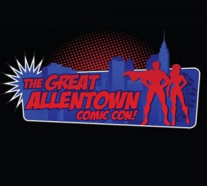 Great Allentown Comic Con logo
