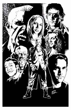 Steve Scott Buffy inks