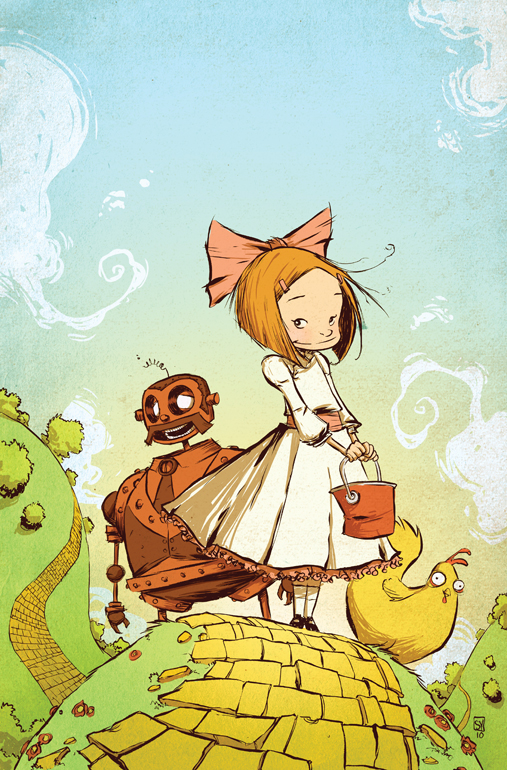 Ozama of Oz #1 Cover by Skottie Young