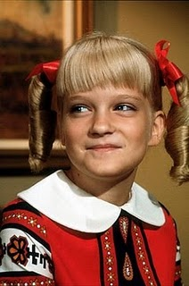 Susan Olsen as Cindy Brady