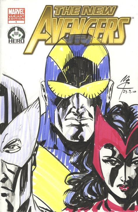 Avengers 100 John McCrea