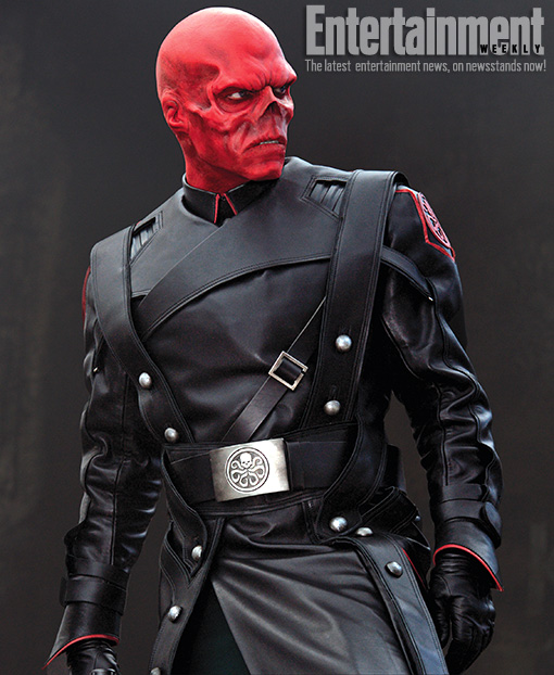 Captain America Red Skull Entertainment Weekly