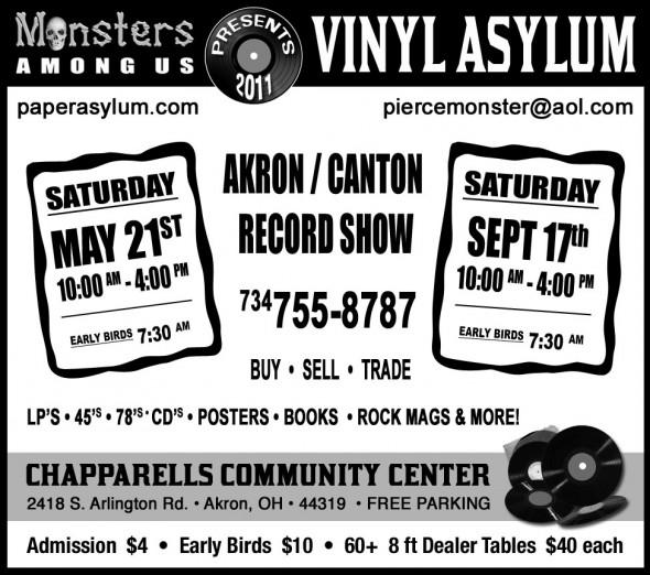 Vinyl Asylum Flyer