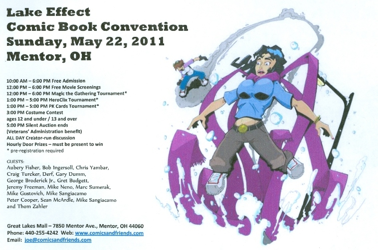 2011 Lake Effect Comic Book Convention Events