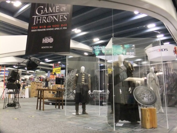 """Game of Thrones"" Booth"