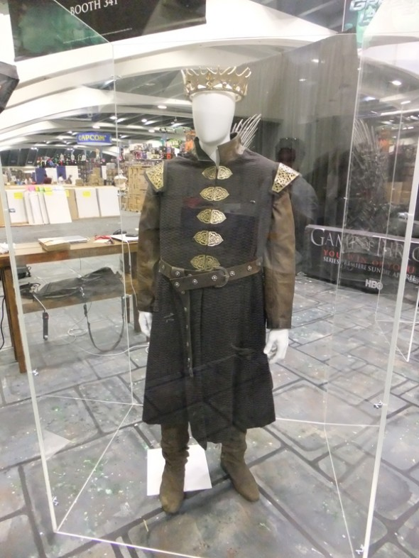King Baratheon's costume