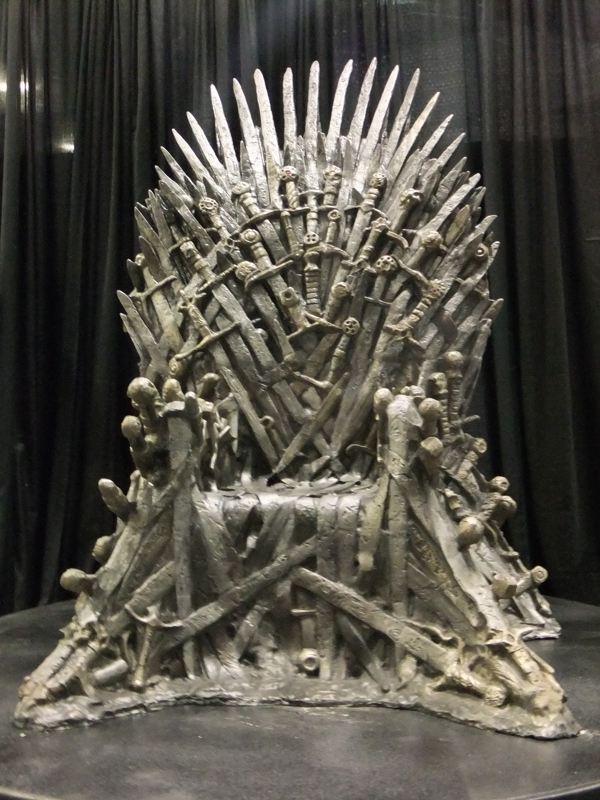 Iron Throne of the Seven Kingdoms of Westeros