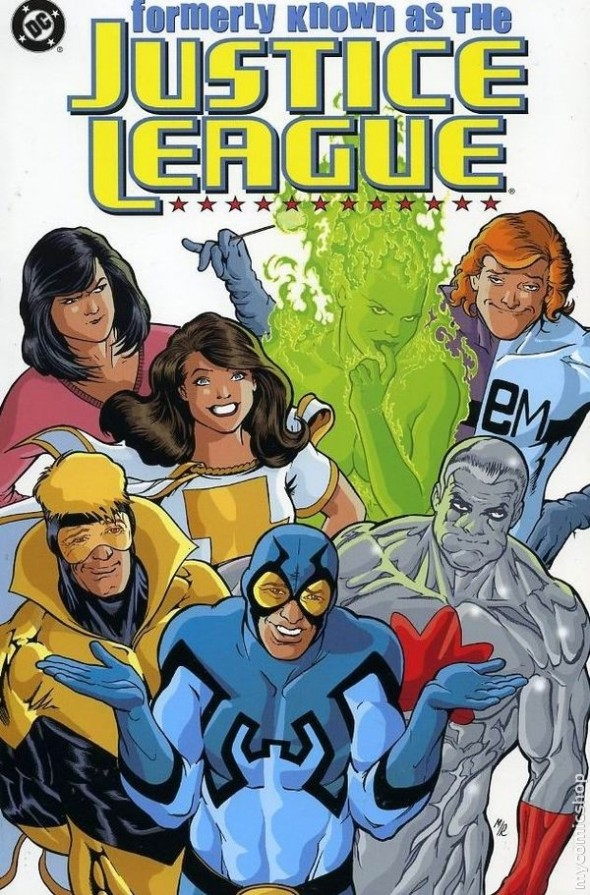 Formerly Known as the Justice League #1