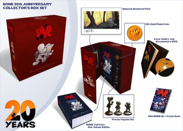 The Bone 20th Anniversary Full Color One Volume Collector's Box Set