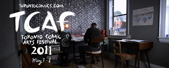 Toronto Comic Arts Festival 2011 video