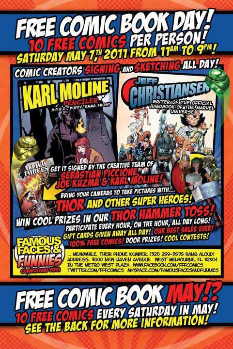 Famous Funnies  Free Comic Book May