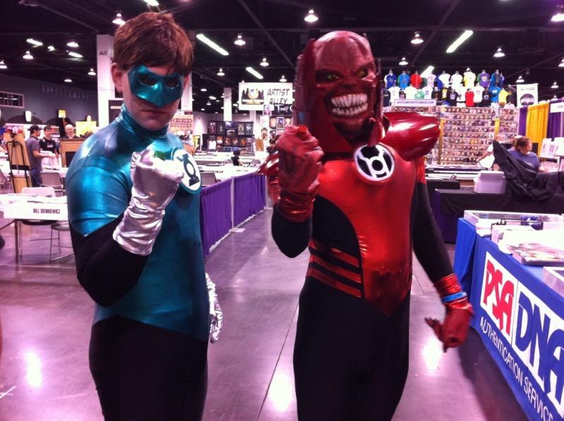 Anaheim Comic Con 2011 Green Lantern