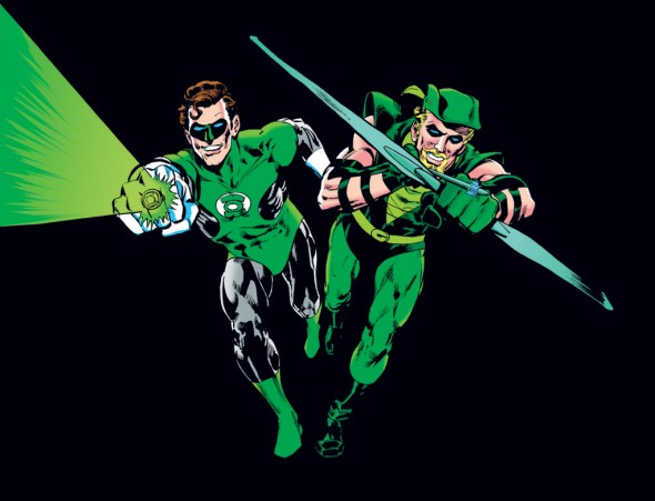 Green Lantern Green Arrow by Neal Adams